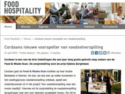 Publicatie: Food Hospitality
